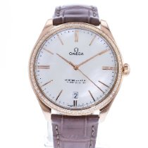 Omega 432.58.40.21.05.003 Or rose 2010 De Ville Trésor 40mm occasion
