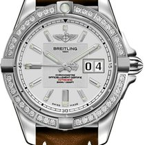 Breitling Galactic 41 Steel 41mm Silver No numerals United States of America, New Jersey, Princeton