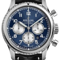 Breitling Navitimer 8 Steel 43mm Blue Arabic numerals United States of America, New Jersey, Princeton
