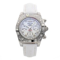 Breitling Chronomat 41 Steel 41mm White No numerals United States of America, New Jersey, Princeton