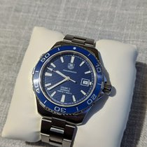 TAG Heuer Aquaracer 500M Steel 41mm Blue No numerals United States of America, New Jersey, Highland Park