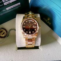 Rolex Day-Date 36 Yellow gold 36mm Brown United States of America, Colorado, Greeley