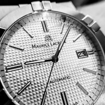 Maurice Lacroix AIKON Steel 42mm Silver No numerals United States of America, Illinois, Hawthorn Woods