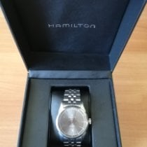 Hamilton Spirit of Liberty Acier 42mm Gris