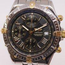 Breitling Crosswind Racing Gold/Steel 43mm Black Roman numerals