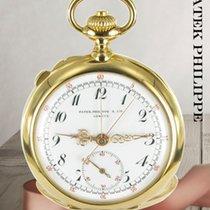 Patek Philippe Uhr gebraucht 1903 Gelbgold 45mm Arabisch Handaufzug Nur Uhr
