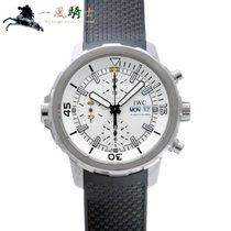 IWC Aquatimer Chronograph Acero 44mm Plata