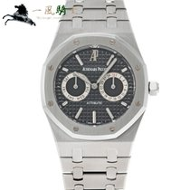 Audemars Piguet Royal Oak Day-Date Stahl 39mm Schwarz