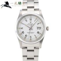Rolex Oyster Perpetual Date Stahl 34mm Weiß