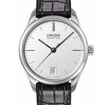 Union Glashütte Viro Date Steel 34mm Silver