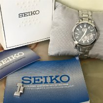 Seiko Premier Kinetic Perpetual Steel Black