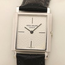 Patek Philippe Oro blanco 26mm Cuerda manual 3491/3 Ultra Slim flach usados