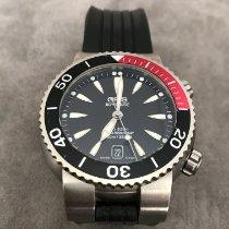 Oris Divers Titan Titanium 44mm Black No numerals