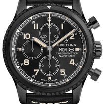 Breitling Navitimer 8 Steel 43mm Black Arabic numerals United States of America, New Jersey, Princeton