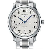 Longines Master Collection Steel 38.5mm Silver Arabic numerals United States of America, Ohio, USA