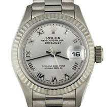 Rolex 79179 Or blanc 2000 Lady-Datejust 26mm occasion