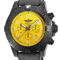 Breitling Avenger Hurricane 50mm Yellow Arabic numerals United States of America, New Jersey, Princeton