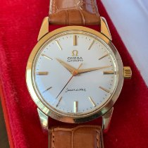 Omega Seamaster Yellow gold 34mm White No numerals
