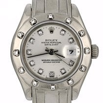Rolex Lady-Datejust Pearlmaster White gold 29mm Silver United States of America, Georgia, Atlanta