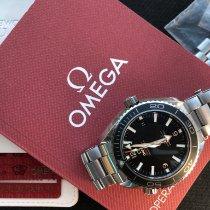 Omega Seamaster Planet Ocean Stål Svart Arabisk Norge, OSLO
