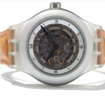 "Swatch SWAK1001- Swatch Diaphane One Limited ""Carrusel Tourbillón"" Nieuw Kunststof 43mm Handopwind"