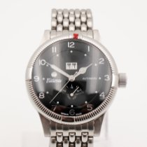 Tutima Steel 43mm Automatic 627-04 pre-owned