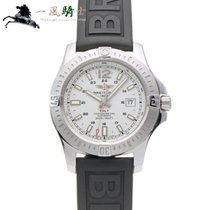 Breitling Colt Automatic Stahl 44mm Silber