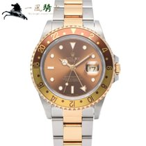 Rolex GMT-Master II Steel 40mm Brown
