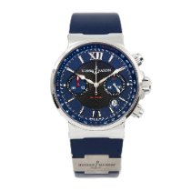 Ulysse Nardin Marine Chronograph 353-66 2010 pre-owned