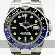 Rolex Automatic Black 40mm pre-owned GMT-Master II