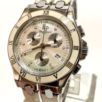 Pequignet Staal 39mm Quartz Pequignet Moorea Triomphe Ladies Chronograph Model 332503 tweedehands