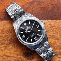 Rolex Explorer Steel 39mm Black Arabic numerals United States of America, New Jersey, Rahway