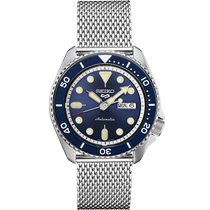 Seiko 5 Sports Steel 42.50mm Blue No numerals United States of America, Florida, Sarasota