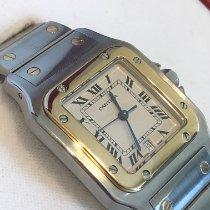 Cartier Santos Galbée Gold/Stahl 29mm Silber (massiv) Römisch Deutschland, Berlin