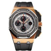 Audemars Piguet 26568OM.OO.A004CA.01 Rose gold Royal Oak Offshore Chronograph 44mm pre-owned United States of America, New York, New York