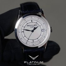 Patek Philippe Calatrava 5296G-001 Good White gold 38mm Automatic