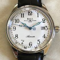 Ball Trainmaster Steel 40mm White Arabic numerals United States of America, Massachusetts, Boston
