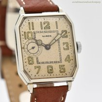 Illinois White gold 26mm Manual winding pre-owned United States of America, California, Beverly Hills