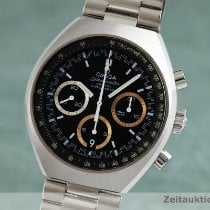 Omega Speedmaster Mark II Acero 42.5mm Negro
