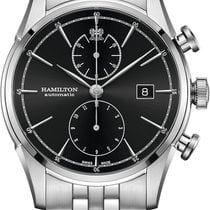 Hamilton Spirit of Liberty Zeljezo 42mm Crn