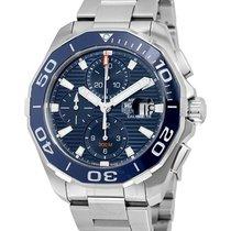 TAG Heuer Aquaracer 300M neu 2016 Automatik Chronograph Uhr mit Original-Box und Original-Papieren CAY211B.BA0927
