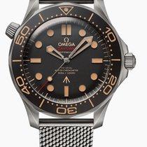 Omega Seamaster Diver 300 M Titane 42mm Noir Sans chiffres France, Thonon les bains
