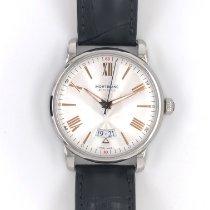 Montblanc 4810 Steel 42mm Silver Roman numerals