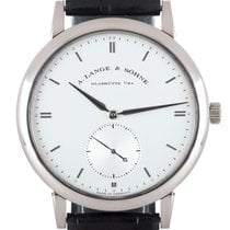 A. Lange & Söhne Saxonia White gold 40mm Silver United Kingdom, London