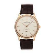 Jaeger-LeCoultre Rose gold Automatic Champagne No numerals 39mm pre-owned Master Grande Ultra Thin