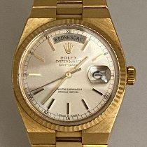 Rolex Day-Date Oysterquartz Oro amarillo 36mm Oro Sin cifras