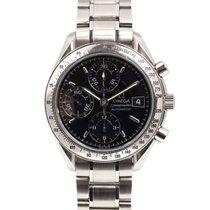 Omega Speedmaster Date occasion 39mm Noir Chronographe Date Tachymètre Acier