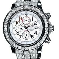 Breitling Super Avenger Steel 48mm White Arabic numerals United States of America, New York, NEW YORK CITY