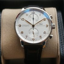IWC Portuguese Chronograph Steel Silver Arabic numerals United States of America, Illinois, Chicago