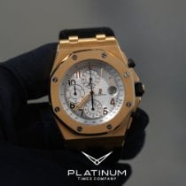 Audemars Piguet Royal Oak Offshore Rose gold 44mm Silver